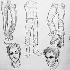 #legs and #faces #Sketches #art