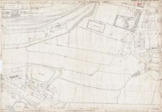 Old Ordnance Survey Map 217-6-15 Pudsey, Farsley and Stanningley, Yorkshire in 1891