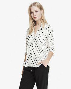 Original Fit Polka Dot Portofino Shirt