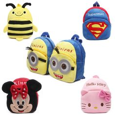 $5.80 (Buy here: https://alitems.com/g/1e8d114494ebda23ff8b16525dc3e8/?i=5&ulp=https%3A%2F%2Fwww.aliexpress.com%2Fitem%2FNew-cute-cartoon-kids-plush-backpack-toys-mini-schoolbag-Children-s-gifts-kindergarten-boy-girl-baby%2F32631133592.html ) New cute cartoon kids plush backpack toy mini school bag Children's gifts kindergarten boy girl baby student bags lovely Mochila for just $5.80