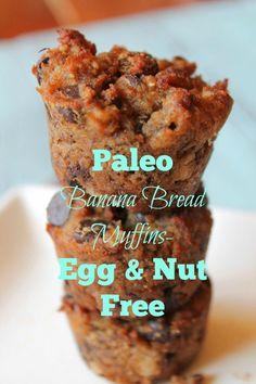 Banana Bread Muffins #glutenfree #grainfree #paleo
