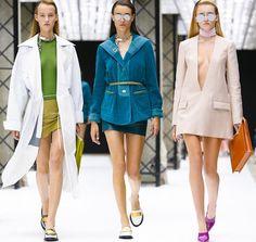 Paris Fashion Week Natural Slicked Back Hairstyles 2015