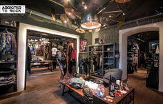 Addicted to rock Store - in Wiener Top Lage könnt ihr eure Produkte im modernen Ambiente angemessen präsentieren