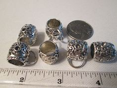 Back in Stock, limited quantity Large Metal Slider Bail by FLcowgirls on Etsy #beadsforsale #findings #bails