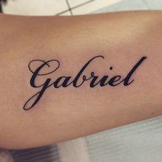Tatouage de son prénom