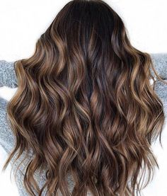 70 Flattering Balayage Hair Color Ideas for 2019 - . - 70 Flattering Balayage Hair Color Ideas for 2019 – - Brown Ombre Hair, Brown Balayage, Balayage Hair Blonde, Ombre Hair Color, Brown Hair Colors, Balayage Color, Black Hair Dyed Brown, Hair Colour, Black Hair With Balayage