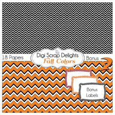 50% OFF TODAY Halloween Digital Papers Black by DigiScrapDelights  #Scrapbooking #Autumn #Fall #Scrapbookingkits #DigiScrapDelights #Thanksgiving