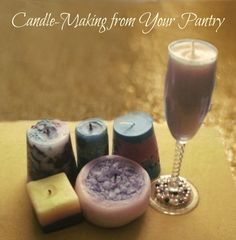 Candle Making from Your Pantry