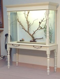 indoor aviary diy - Build this for your bird omg please it will love life and get it a mate!