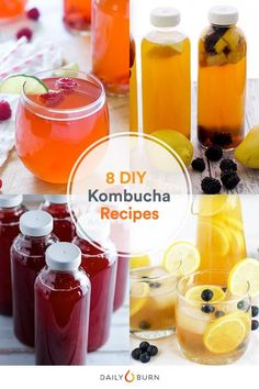 Why throw down money each day for a bottle of kombucha when you can make the probiotic-rich drink at home? Check out these easy kombucha recipes. via @dailyburn