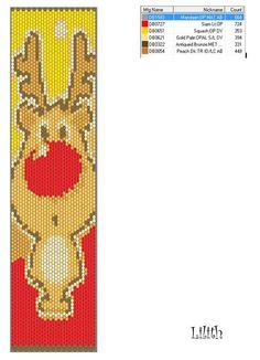 Lilith Gyöngyékszerek: minták/ pattern moose