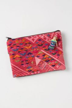 Solola Pouch- love the little worry doll