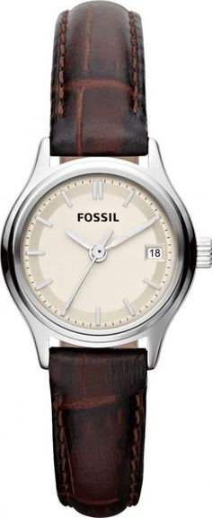 Fossil Archival Mini Leather Watch - Brown ES3168, Disclosure: Affiliate Link