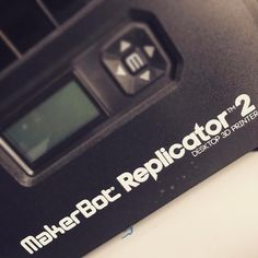 Found this in the office. I just love living in the future! @makerbot Replicator  #FLAWD #MakerBot #Replicator