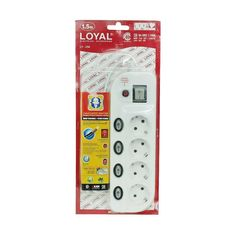 Multitap 4 Lubang + Fuse Breaker LOYAL LY254 - 2