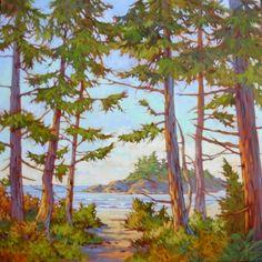 Com Art Community Amanda Jones, Watercolor Landscape Paintings, Colorful Paintings, Community Art, Coastal, Ocean, Landscapes, Paisajes, Color Paints
