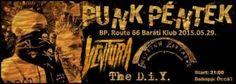 Punk Péntek: Ventura & The D.I.Y. & Delirium Zodiákus - Route 66 Baráti Klub (2015.05.29.)