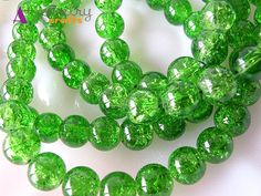 Glass beads, crystal, crystal style, green, blue, white, orange, red, brown…