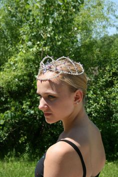 Ballet headpiece available from Angamow on etsy.com