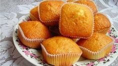Simple and delicious cupcakes with condensed milk (muffins) Milk Recipes, Cupcake Recipes, Baking Recipes, Dessert Recipes, Butter Cupcakes, Yummy Cupcakes, Easy Apple Muffins, Homemade Desserts, Condensed Milk