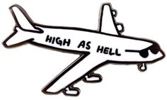 Valley Cruise Press Airplane Pin pins >> hard enamel pin >> soft enamel pin >> lapel pin >> embroidery >> embroidered patches >> iron on patch >> sew on patch >> style >> fashion >> cute >> hipster >> tumblr