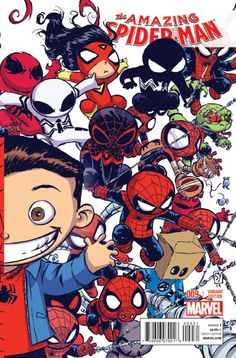 Preview: AMAZING SPIDER-MAN #9 - Comic Vine  Cute spider-man babies