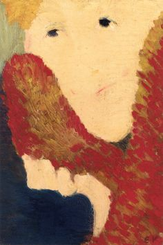 jean-édouard vuillard(1868–1940), woman in a fur collar, c. 1890-91. oil on canvas, 21 x 14.3 cm. private collection http://www.the-athenaeum.org/art/detail.php?ID=105041