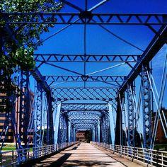 blue bridge grand rapids   Found on instagr.am