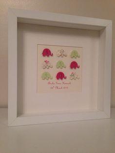 Personalised Handmade Bespoke Pink Baby by InspiredWithLove1