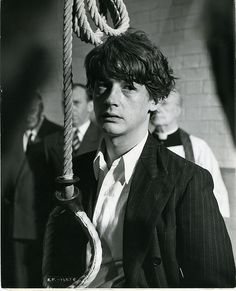 A very young  and hipster John Hurt (with a noose) makes me want to invest in time travel technology