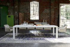 KFF AXIDA Esstisch mit Ausziehfunktion - Furnier oder Laminat | KFF AXIDA Extension table - veneered oder laminated #YOUMA