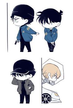 (20) Anasayfa / Twitter Conan, Detective, Anime Siblings, Gosho Aoyama, Amuro Tooru, Kudo Shinichi, Magic Kaito, Case Closed, Bat Family