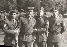 JNA Yugoslavian army paratroopers