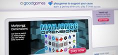 By playing games, site's users raise money for charity