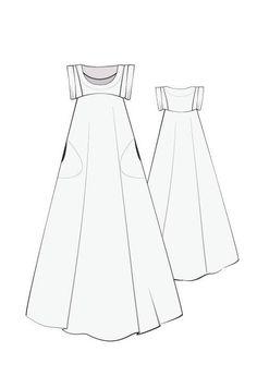 Celestial Maxi Dress – Indie Stitches