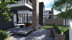 Earp Construction develops and sells properties in George on the Garden Route in South Africa. There are a range of design styles and sizes to suit your budget. Property For Sale, South Africa, Sparkle, The Unit, Construction, Mansions, Luxury, House Styles, Design