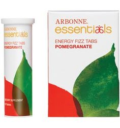 Arbonne's Pomegranate Energy Fizz Tabs. My favorite! No more coffee needed!