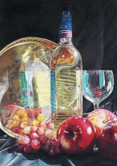 Ann Kullberg To have this talent is wonderful! I love this one because of the wine bottle.