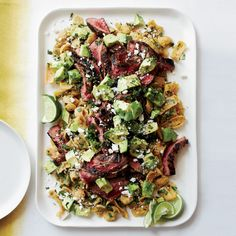 Cola-Marinated Flank Steak with Frito Chilaquiles | 23 Most Perfect Foods in the Universe