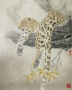 Красивые животные в китайской живописи..