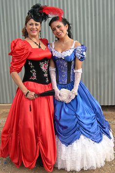 This is a Saloon Girl, not a Lady.  Corsets go UNDER clothing. If you wear your underwear on the outside... you're sell'in something.