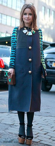 The A-List: Top 10 Street Style Stars / Photo by Anthea Simms