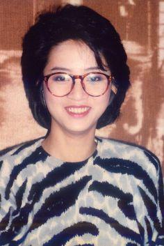 Anita Mui with glasses, 1980s