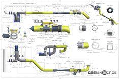 Hier haben wir für die chemische Industrie neueDruck-Gasleitungen von der Leitungsführung bis zu den Werkstattsplanung erstellt. Ebenfalls wurde die Statischen Berechnung und Auslegung der Auflage...