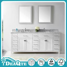 Solid Wooden PVC Cheap Single Bathroom Vanity