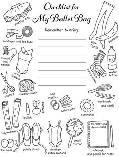 Dover Publications My Ballet Journal Ballet Bag, Baby Ballet, Ballet Kids, Ballet Crafts, Dance Crafts, Ex Libris, Teach Dance, Dance Camp, Dance Coloring Pages