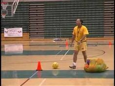 4 goal football: Learn a new game for PE Class.