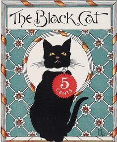 The black cat, May 1896. Boston, Mass. : The Shortstory Publishing Co. American Art Posters