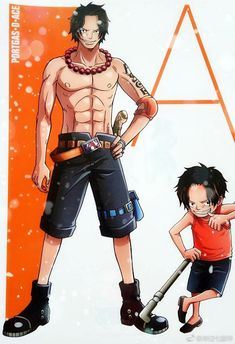 Ace Isn't he just the best brother anyone could have 😂 Ace One Piece, One Piece Series, One Piece Comic, One Piece World, Anime Echii, Anime Siblings, Ace Sabo Luffy, Samurai, Arte Sketchbook