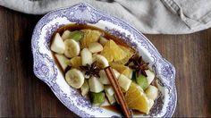 Marinoituja hedelmiä